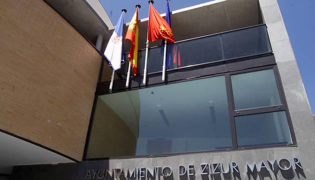Fachada del Ayuntamiento de Zizur Mayor.