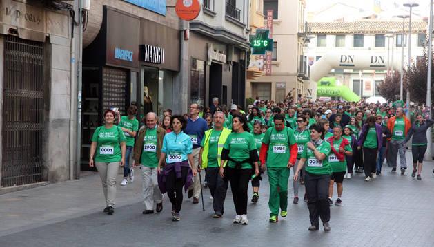 Participantes en la marcha del año pasado.
