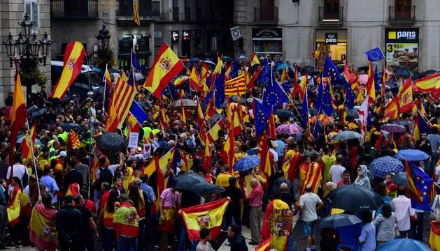 Manifestación, este sábado, en Barcelona