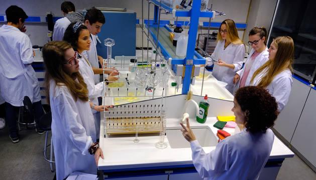Prácticas en tercero de Innovación en un laboratorio de la UPNA.