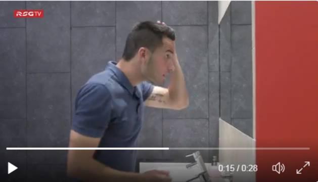 Isma López, en el video.