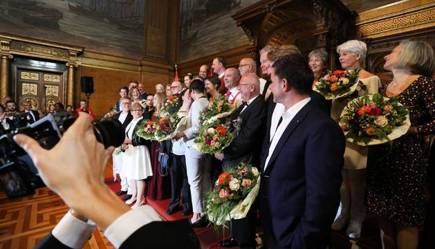 En una de las bodas en Alemania