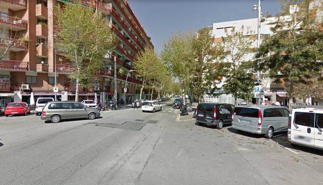 Foto de la calle Llull de Barcelona.