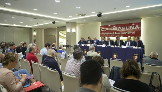 Imagen de la asamblea de socios celebrada el pasado domingo