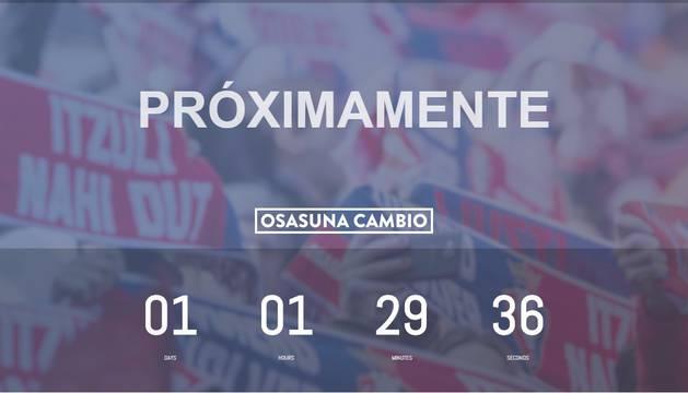 La candidatura 'Osasuna cambio' se presentará mañana en el Muga de Beloso