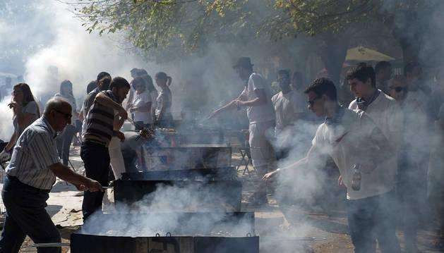 Villava celebra una costillada popular con motivo en las fiestas 2017