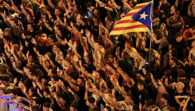 Manifestaciones multitudinarias a lo largo del territorio catalán