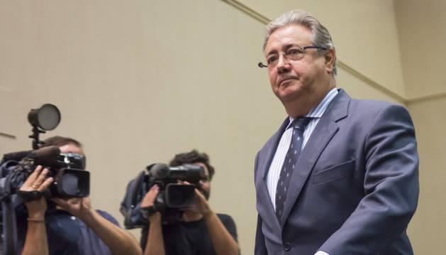 Foto del ministro de Interior, Juan Ignacio Zoido.