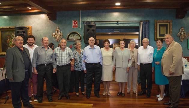El club de jubilados de Aioz celebra el día de su patrón San Miguel.