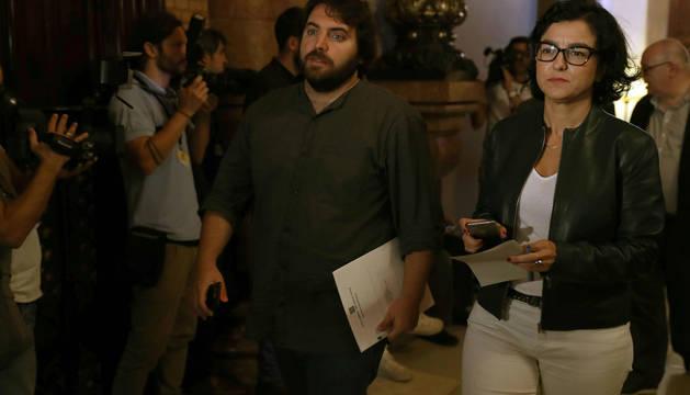 La portavoz del PSC, Eva Granados, en la cámara catalana