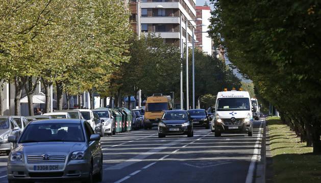 Vista de la avenida Pío XII.