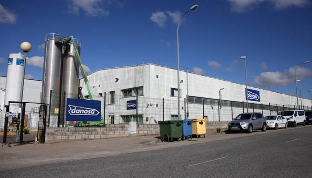 Foto de la planta de Danosa en el polígono industrial de Las Labradas de Tudela.