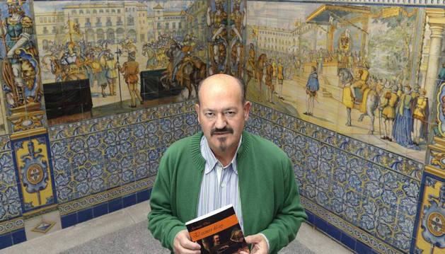El escritor Germán Díez Barrio.