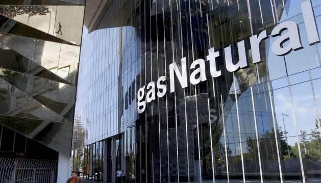 Foto de la sede de Gas Natural en Barcelona.