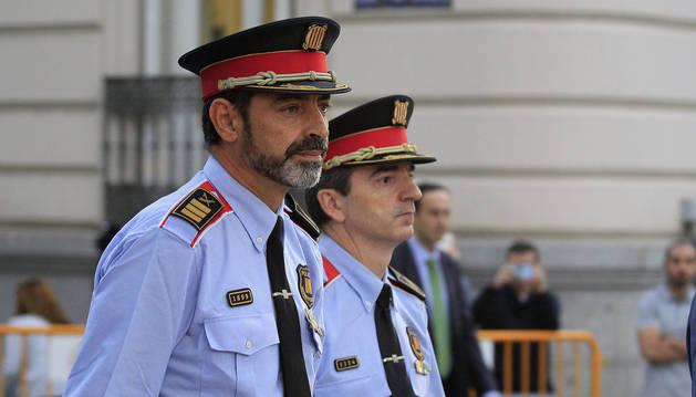 Trapero llega a la Audiencia Nacional para declarar por un delito de sedición