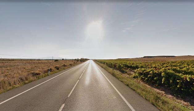 Imagen del kilómetro 80 de la N-113, donde se ha producido el suceso.