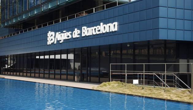 Aguas de Barcelona.