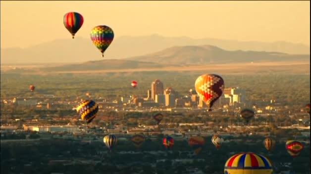 Festival de globos aerostáticos de Albuquerque (México)