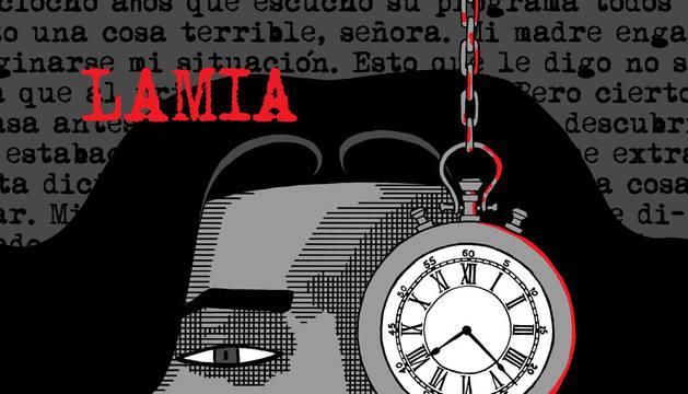 Obra 'Lamia' del dibujante canario Rayco Pulido, Premio Nacional del Cómic 2017.