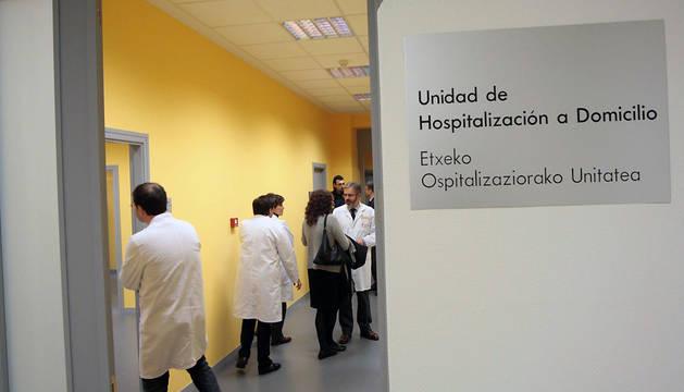 Área de Hospitalización a Domicilio del CHN.