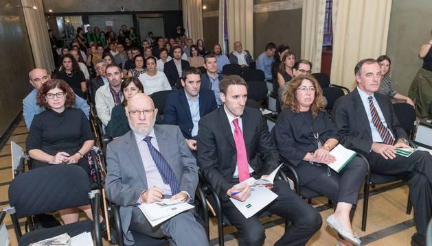 Asistentes a la apertura del curso 2017/18 de la UNED de Tudela.