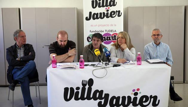 El comedor Villa Javier de Tudela ha servido 17.618 comidas en 2017