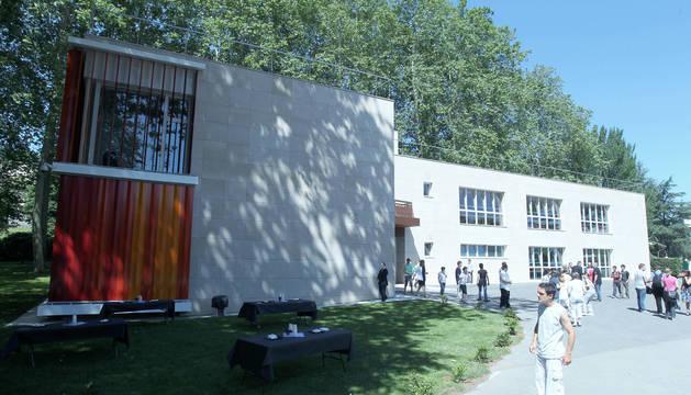 Instalaciones del Centro Ocupacional El Molino, en Pamplona.