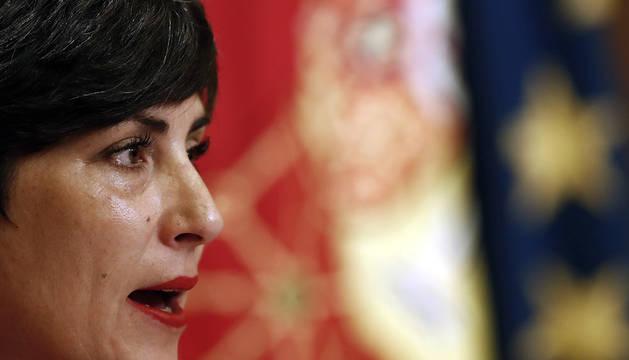 La portavoz del Ejecutivo navarro, María Solana.