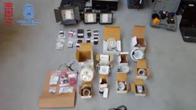 Desarticulada una banda que robaba en empresas navarras