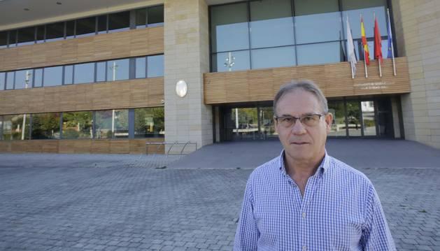 Foto de Cecilio Lusarreta, alcalde de la Cendea de Galar.