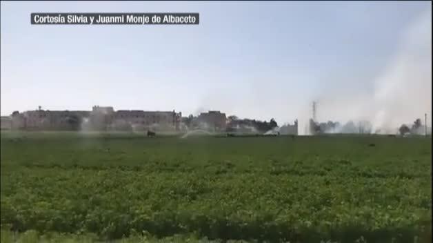 Muere el piloto del Eurofighter estrellado en Albacete tras volver del 12-O