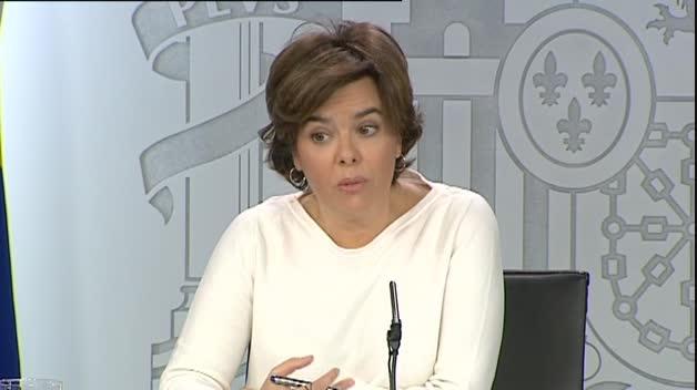 El Gobierno avisa a Puigdemont de riesgos económicos