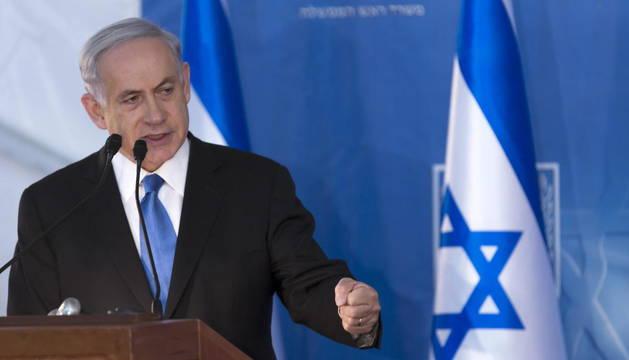 Foto del primer ministro israelí, Benjamín Netanyahu.
