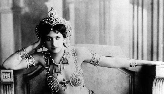 Retrato de Mata Hari datado en 1900.