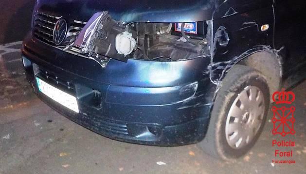 Estado en el que quedó el vehículo perjudicado.