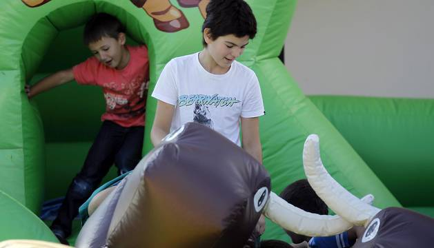Día del Niño en las fiestas de Lekunberri