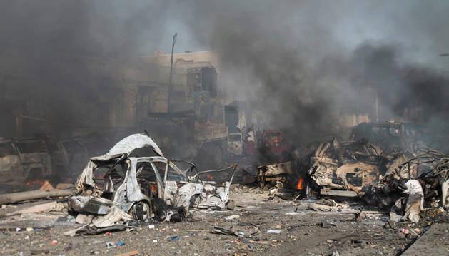 Al menos 30 muertos en un ataque de Al Shabab contra un hotel en Mogadiscio
