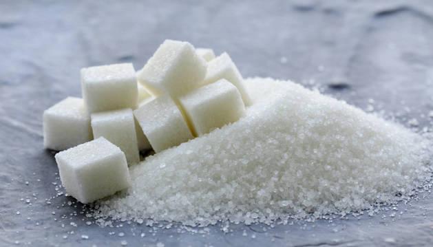 Imagen de archivo de unos azucarillos.