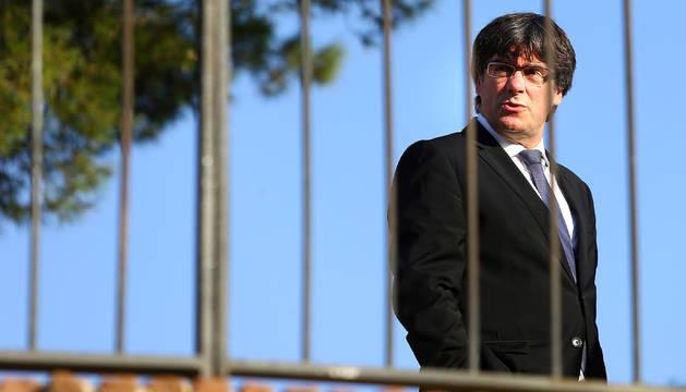 Puigdemont, en el aniversario del fusilamiento del presidente Lluís Companys.
