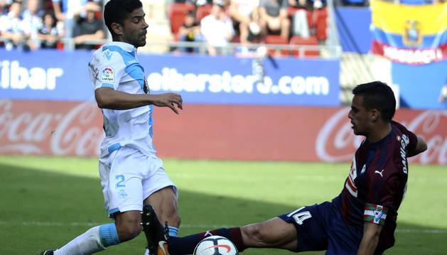Eibar y Deportivo empatan sin goles en un partido sin apenas ocasiones