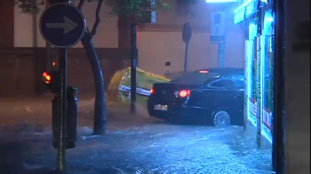 Inundaciones en Jerez