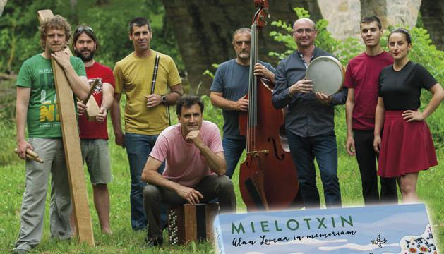 """Mielotxin presenta su nuevo disco """"Alan Lomax, in memoriam"""""""