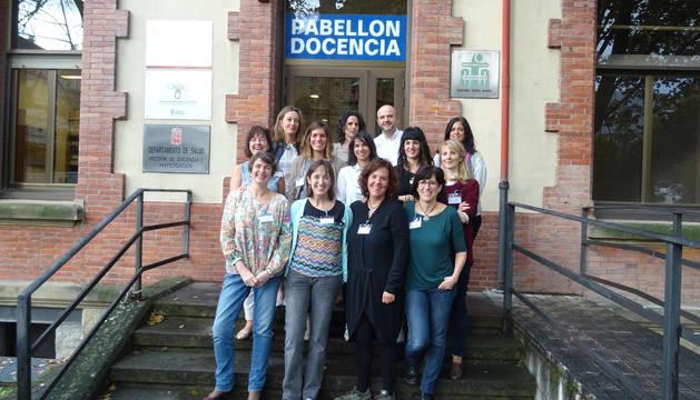 Participantes en el primer plan de formación de profesionales que impulsa Salud