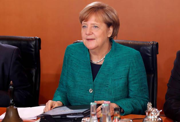 Imagen de la canciller alemana, Angela Merkel.