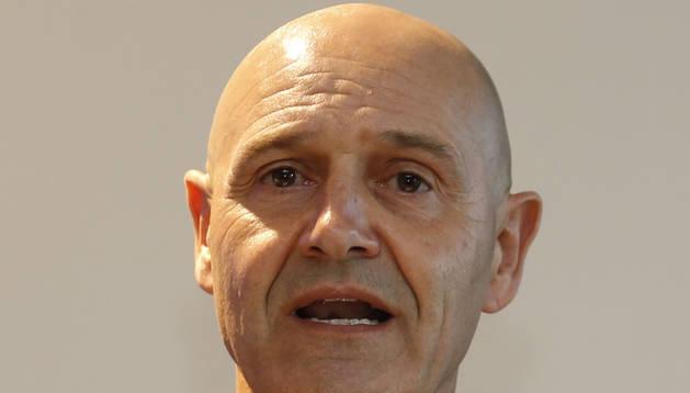 foto de Víctor Álvarez, presidente de la candidatura