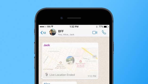 ¿Qué seguirá a compartir tu ubicación por WhatsApp? Las videollamadas en los grupos
