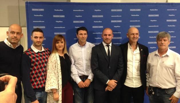 La presentación del proyecto deportivo de 'Osasuna Cambio'