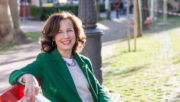 Rosa Blasco, autora de El sanatorio de la Provenza, vuelve a Tudela este lunes para presentar su novela.