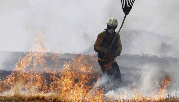 El verano en Navarra se saldó con 402 incendios y 627 hectáreas afectadas