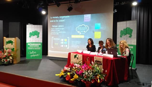 Imagen del evento organizado por AFAMMER Navarra